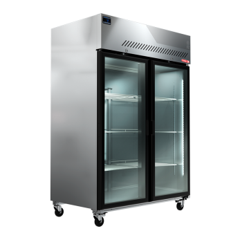 congelador vertical torrey fg-1300 ,cristal